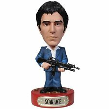 Scarface With Gun Wobbler: Al Pacino as Tony Montana & His Friend, NEW and MINT!