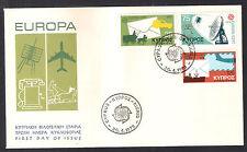 CYPRUS 1979 EUROPA SATELLITE TELECOMMUNICATIONS RADAR MAIL COACH UNOFFICIAL  FDC