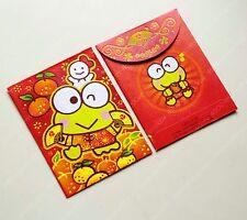 Sanrio kerokerokeroppi tangerine Chinese New Year Red packet pocket envelope 8pc