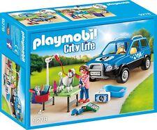 Playset UNITA MOBILE DI CURA DEI CANI Veterinario City File PLAYMOBIL 9278