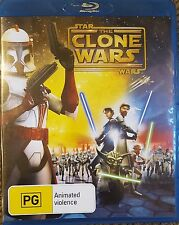 STAR WARS ANIMATED RARE DELETED CLONE WARS MOVIE BLURAY BLU-RAY CARTOON OOP PAL