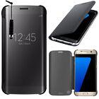 Etui Coque Housse Clear Case View Smart Cover pour Samsung Galaxy S7 edge G935F