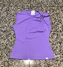 CHANEL CC Cruise 2000 Purple Nylon Blend Top