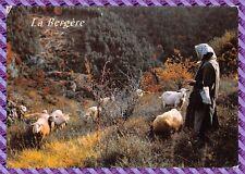 Scène Pastorale en haute Montagne - la bergère