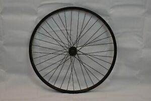 "Vuelta Cut 19 26"" Front MTB Wheel 19mm OLW100 Deore LX Hub Center Disc Charity!!"