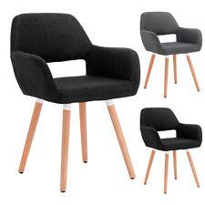 1 Fauteuil de salon Chaise de cuisine chaise salle à manger en lin f248
