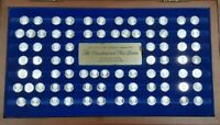 Presidents & First Ladies of the U.S. Franklin Mint Silver Mini Coin Set