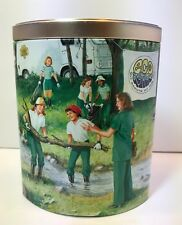 2005 Ashdon Farms Girl Scout Tin 1970's The Girl Scout Promise