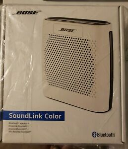 Bose SoundLink Color Bluetooth Speaker (White)5 stars reviews.New factory sealed