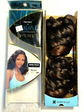 """Synthetic Hair Weave By Freetress Equal, Style Bliss 18"""", Color T30, New In Box"""