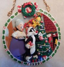 LOONEY TUNES ORNAMENT, GRANNY'S HOUSE COLLECTOR PLATE, WB