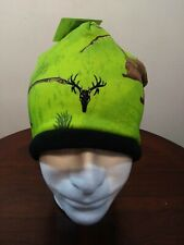 Realtree Xtra Colors Mens Winter Hat Hot Shot Hunting Green