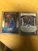 2019 Panini BLUE PRIZM All-American Zion Williamson ROOKIE #100 -BLUE PRIZM