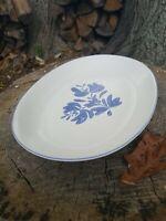 """Pfaltzgraff Yorktowne 14"""" Platter USA Blue Floral Pattern EXCELLENT! Yorktown"""