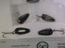 Casting Spoon 1/16 oz.  with #2 Double loose hook pack of 25