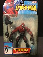 "Marvel Legends Amazing Spider-Man Classics Toxin  6"" Action Figure ToyBiz"