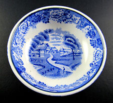 VINTAGE ENOCH WOODS ENGLISH SCENERY WOOD & SONS ENGLAND SMALL DISH (C27)