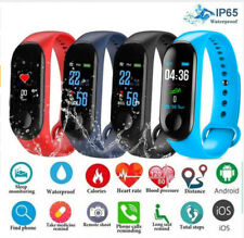 US Bluetooth Smart Bracelet Sport Watch Step Calorie Counter Tracker Pedometer