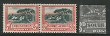 South Africa 1930-44 3d Black & red with 'Window' flaw SG 45bw Mint.