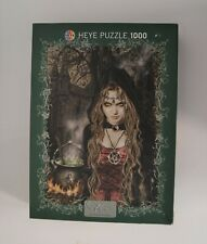Favole by VIctoria Francis - Heya Puzzle 1000 Piece - Complete Gothic Witch
