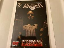 "THE PUNISHER ""Up Is Down And Black Is White"" Vol. 4 TPB 1st Printing - 2005!"