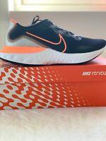 nike renew run men's running shoes Size Us10 Eur 44