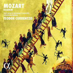 TEODOR CURRENTZIS Mozart Requiem MusicAeterna Alpha Classics 2 LP VINYL NEW