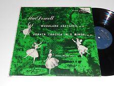 MACDOWELL NM Vivian Rivkin Piano Woodland Sketches Sonata Tragica in G Minor