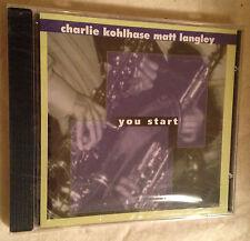 KOHLHASE LANGLEY CD YOU START BOXHOLDER007 2000 JAZZ
