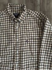 Men's Ralph Lauren Jeans Co. Plaid Button Down Long Sleeve Shirt sz Large