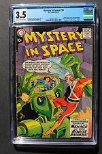 MYSTERY IN SPACE #53 1st ADAM STRANGE Begins 1959 Infantino Gil Kane CGC VG- 3.5