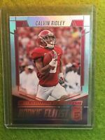CALVIN RIDLEY ROOKIE CARD RC PRIZM REFRACTOR SP 2018 Elite Football ELITIST #RE8