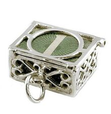 STERLING SILVER MAD MONEY 60'S £1.00 NOTE CHARM