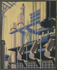 Composition 75 (futurism) : Iakov Chernikhov : Circa 1930 : Art Print