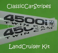 LandCruiser 4500i 80 Series TwinCam Black Decal Sticker