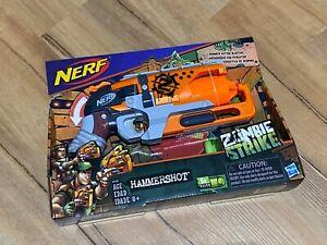 NERF Zombie-Strike Hammershot One-Handed Hammer Action Dart Blaster - BRAND NEW