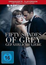FIFTY SHADES OF GREY 2: GEFÄHRLICHE LIEBE  (D.JOHNSON/J.DORNAN/+) DVD NEU