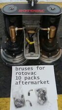 rotovac powerwand and DHX  brushes    aftermarket  5 sets     10 brushes