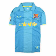 Nike Herren Trikot Jersey Gr.S FC Barcelona 2007/2008 FitDry Blau 96916