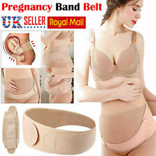 Pregnancy Maternity Support Belt Belly Band Bump Waist Back Lambar Postpartum UK