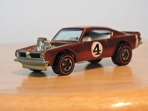 Original Mattel Hotwheels Spoilers King Kuda Red White Interior Redline NICE