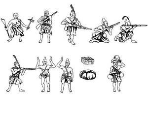 Hat WWI Ruga ruga Infantry Model Figures - 1 - Sprue - 8269