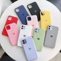 For iPhone 12 Mini 11 Pro MAX XS XR X 8 7 ShockProof Soft Heart Phone Case Cover
