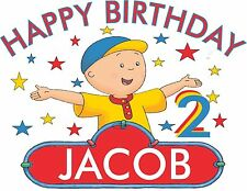 Caillou Custom Personalized Happy Birthday T Shirt Personalized Name 421