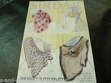 Sirdar Snuggly Tutti Frutti Pattern 4690 Blankets