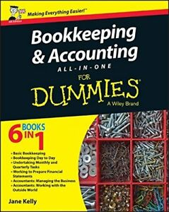 Bookkeeping & Accounting All-in-One For Dummies By Jane E. Kelly