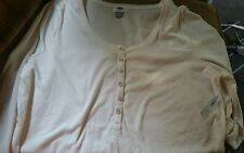 Old Navy NWT women's plus 2X/xxl long sleeve stretch shirt off white