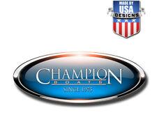 Champion Boats Bass Boat Graphic Sticker fishing fish vinyl Decal Logo 40500