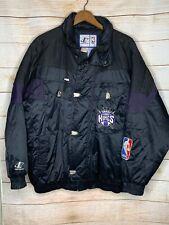 Vintage Sacramento Kings Men's Logo Athletic Jacket With Hood Large