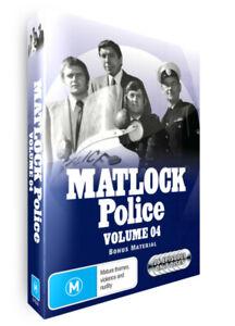 MATLOCK POLICE - VOLUME 4 - DVD SET - BRAND NEW AND SEALED
